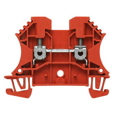 W-Series, Feed-through terminal, Rated cross-section: 2,5 mm², Screw connection, Direct mounting WDU 2.5 RT Weidmüller Množství: 100 ks