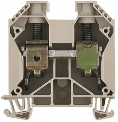 W-Series, Feed-through terminal, Rated cross-section: 35 mm², Screw connection, Direct mounting WDU 35/IK Weidmüller Množství: 25 ks