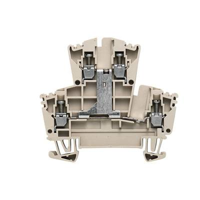 W-Series, Feed-through terminal, Double-tier terminal, Rated cross-section: Screw connection, Direct mounting WDK 2.5V Weidmüller Množství: 100 ks