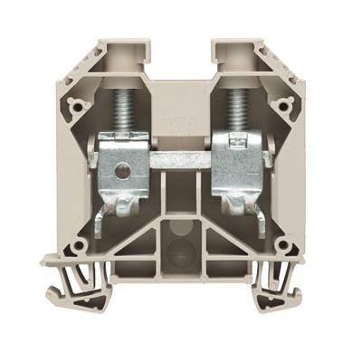 W-Series, Feed-through terminal, Rated cross-section: 35 mm², Screw connection, Direct mounting WDU 35/ZA Weidmüller Množství: 40 ks