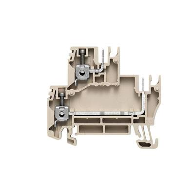 W-Series, Plug-in modular terminals, Feed-through terminal, Double-tier terminal, Rated cross-section: 2,5 mm², Screw connection, WDK 2.5/BLZ/5.08/ZA Weidmüller Množství: 100 ks