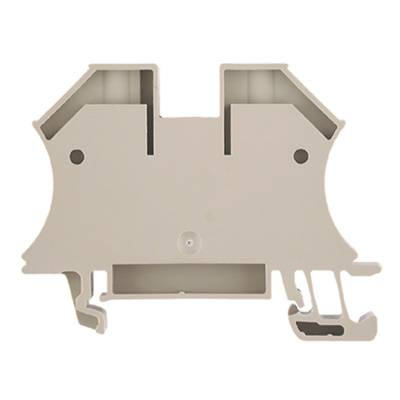 W-Series, Feed-through terminal, Rated cross-section: 16 mm², Screw connection, Direct mounting, Beige WDU 16N Weidmüller Množství: 50 ks