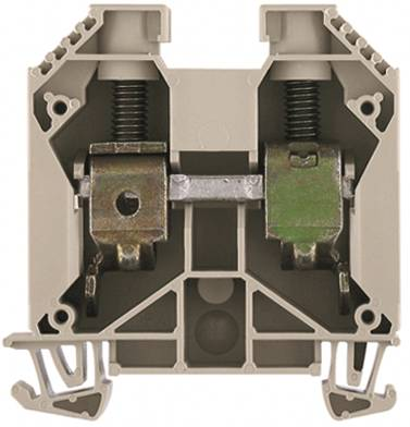 W-Series, Feed-through terminal, Rated cross-section: 35 mm², Screw connection, Direct mounting, Dark Beige WDU 35N KB BL Weidmüller Množství: 20 ks