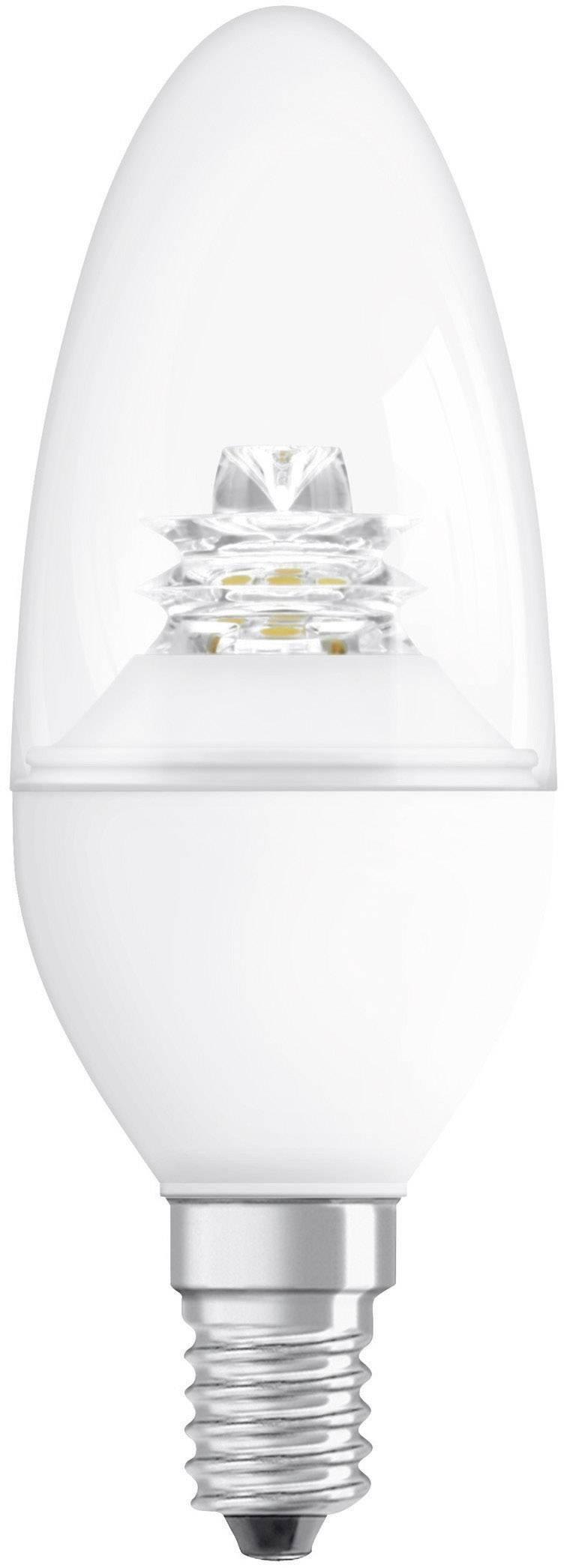 LED žiarovka Osram SST E14, 4,5 W, teplá biela, stmievateľná sviečka