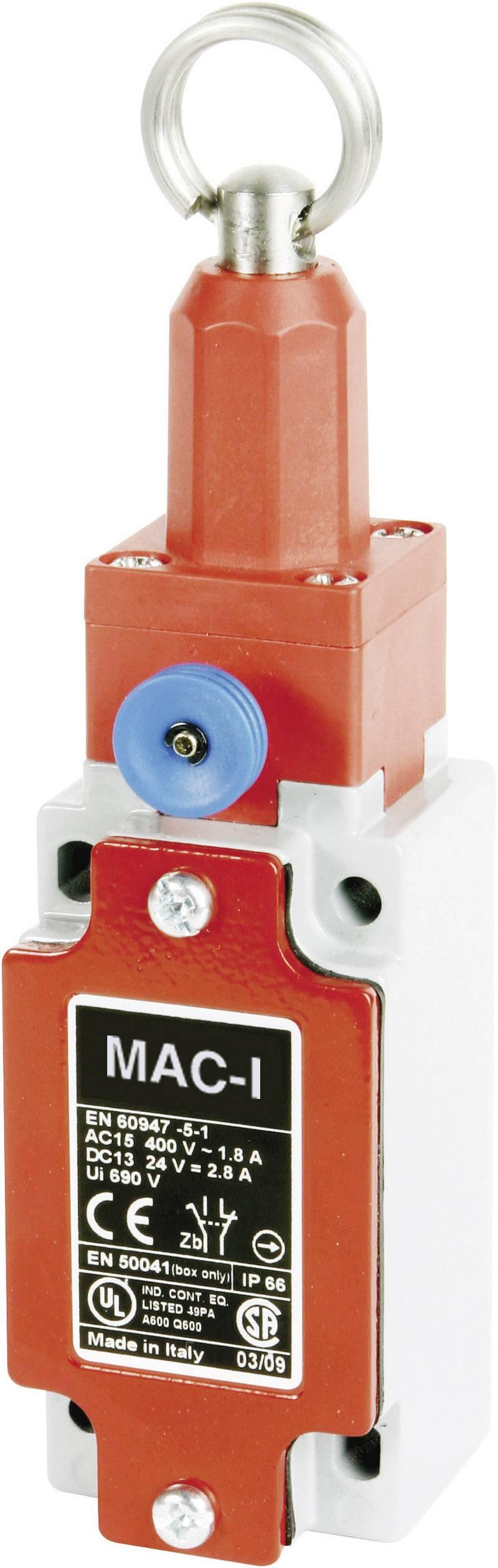 Lankový spínač Panasonic SL5F98X11, 400 V/AC, 10 A, lanové zdvíhadlo so skrutkovým závitom , bez aretácie, IP66, 1 ks