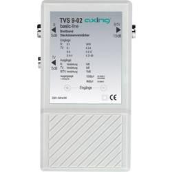 Širokopásmový antenní zesilovač TV , UKW Axing TVS 9, 10 dB