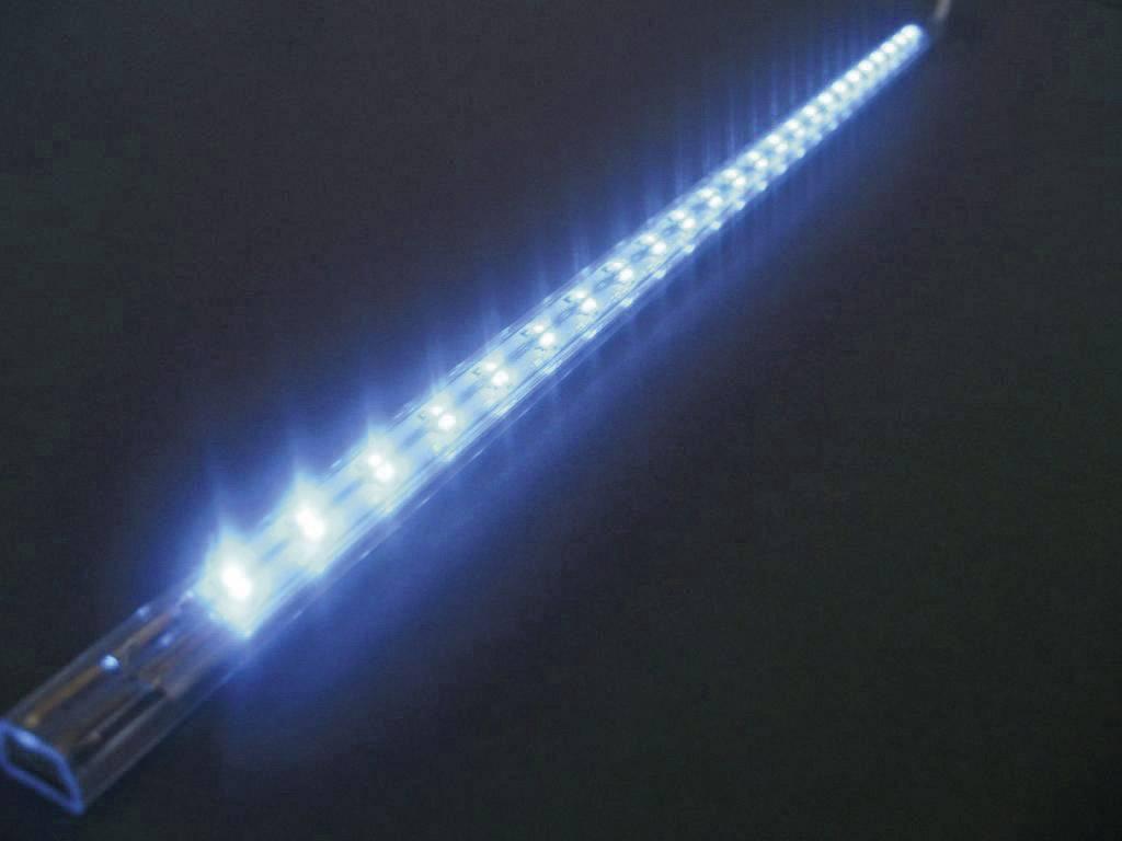 Dekoratívna LED lišta, 24 LED, modrá
