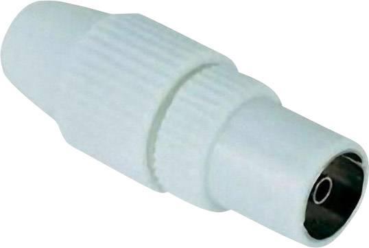 Koaxiálna (anténna) zásuvka RENKFORCE, plastová, KST 32