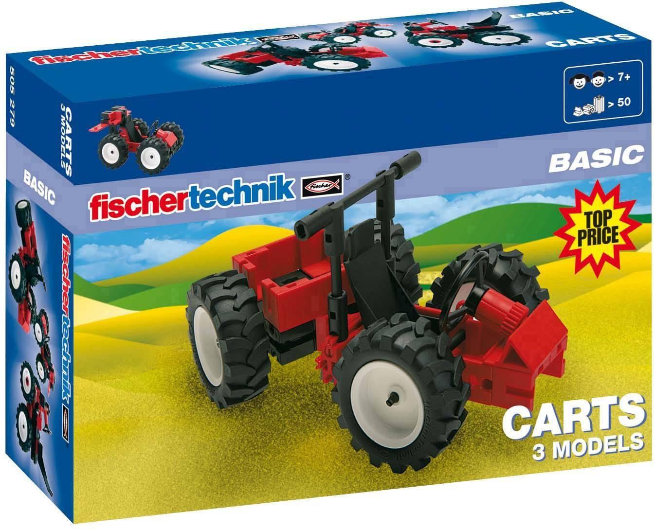 Experimentální sada fischertechnik Carts 505279, od 7 let