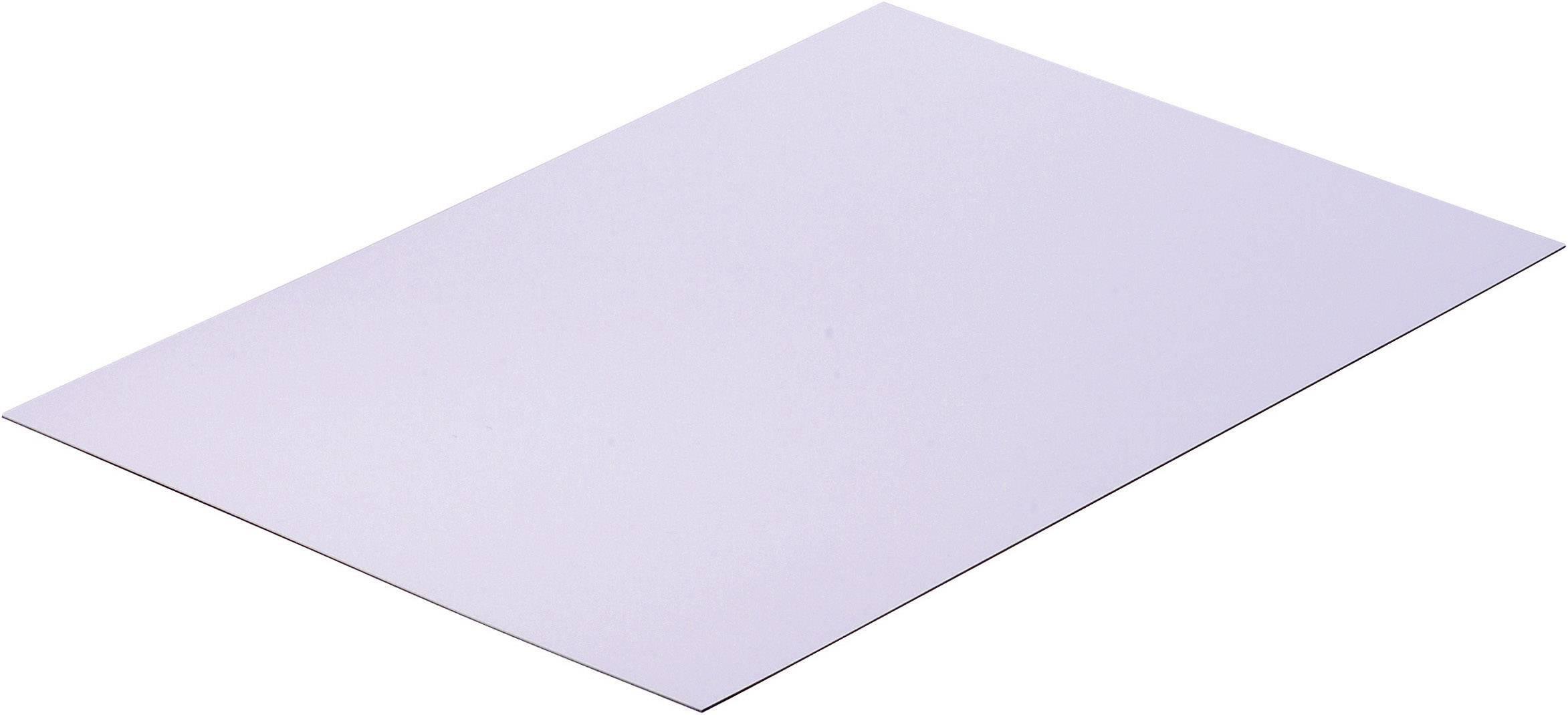 Polystyrenová deska bílá Modelcraft, 330 x 230 x 0,5 mm