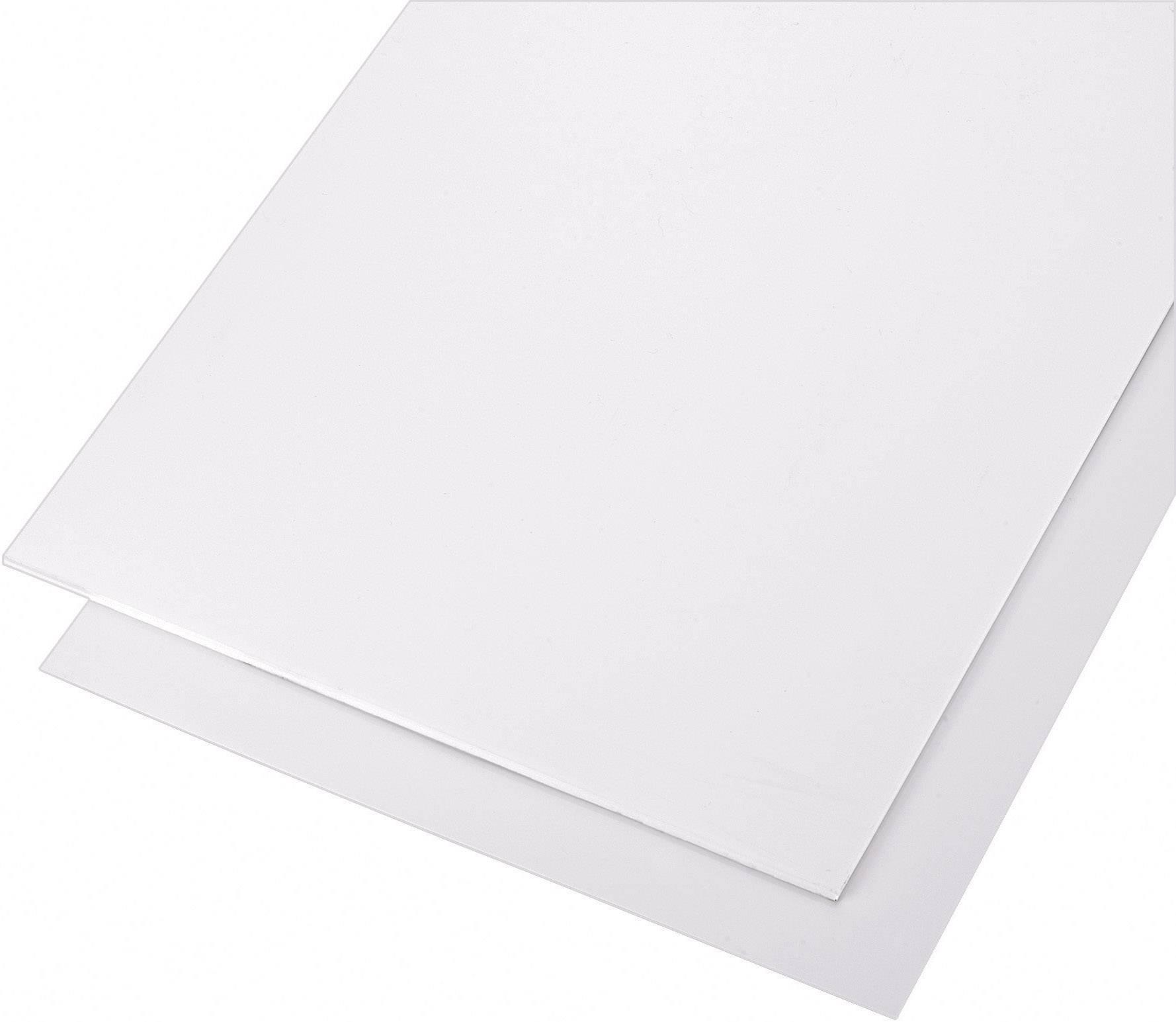 Polystyrenová deska bílá Modelcraft, 330 x 230 x 4 mm