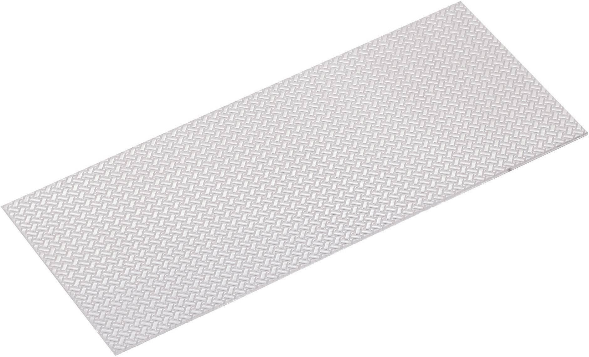 Hliníková deska hliníková 300 x 170 x 1,0 mm