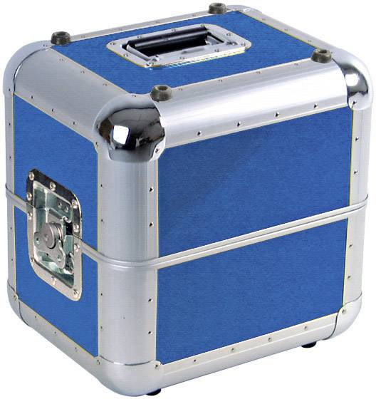 Transportný box/kufor Plattencase Aluminium 3011003B, (d x š x v) 380 x 300 x 365 mm, modrá