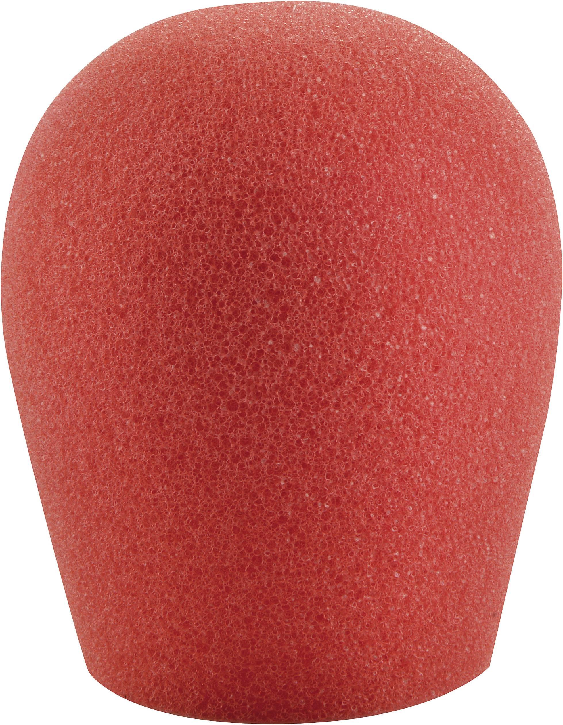 Ochrana mikrofonu před větrem, 30 - 45 mm, červená