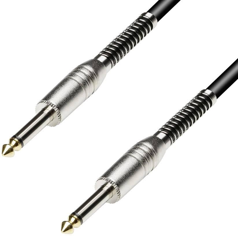 Kábel Paccs HSC20BK100SD, [1x jack zástrčka 6,35 mm - 1x jack zástrčka 6,35 mm], 10 m, čierna