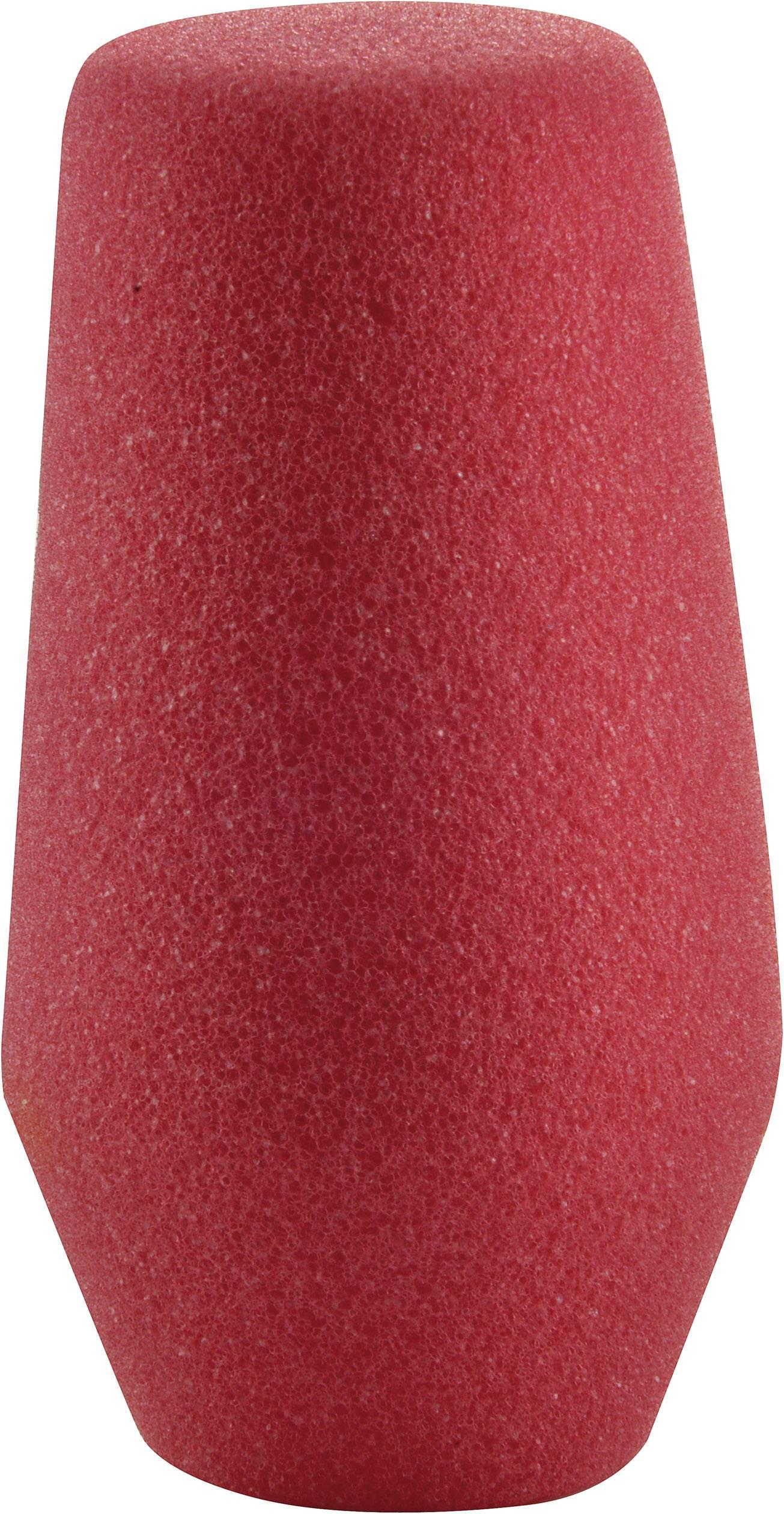 Ochrana mikrofonu před větrem,30 - 40 mm, červená