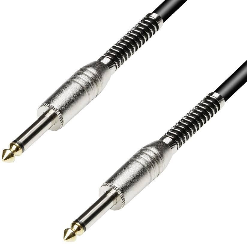 Kábel Paccs HSC20BK150SD, [1x jack zástrčka 6,35 mm - 1x jack zástrčka 6,35 mm], 15 m, čierna