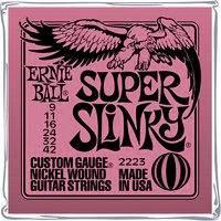 Struny na elektrickou kytaru Ernie Ball Regular Super Slinky, 009 - 042
