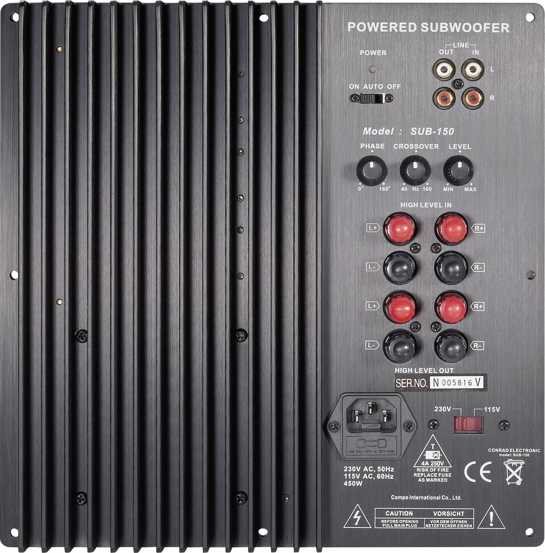 Zosilňovače - vstavané modely pre reproduktory