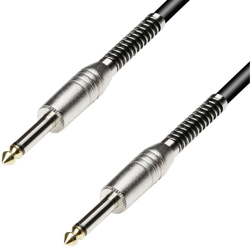 Kábel Paccs HSC20BK200SD, [1x jack zástrčka 6,35 mm - 1x jack zástrčka 6,35 mm], 20 m, čierna