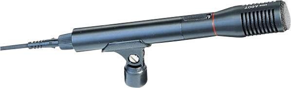 Ručný rečnícky mikrofón EM-240, káblový, vr. svorky