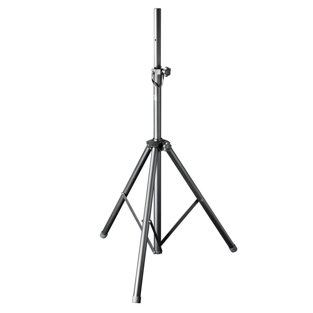 Hliníkový stojan na repro, vzduchové odpružení, nosnost 30 kg, černá