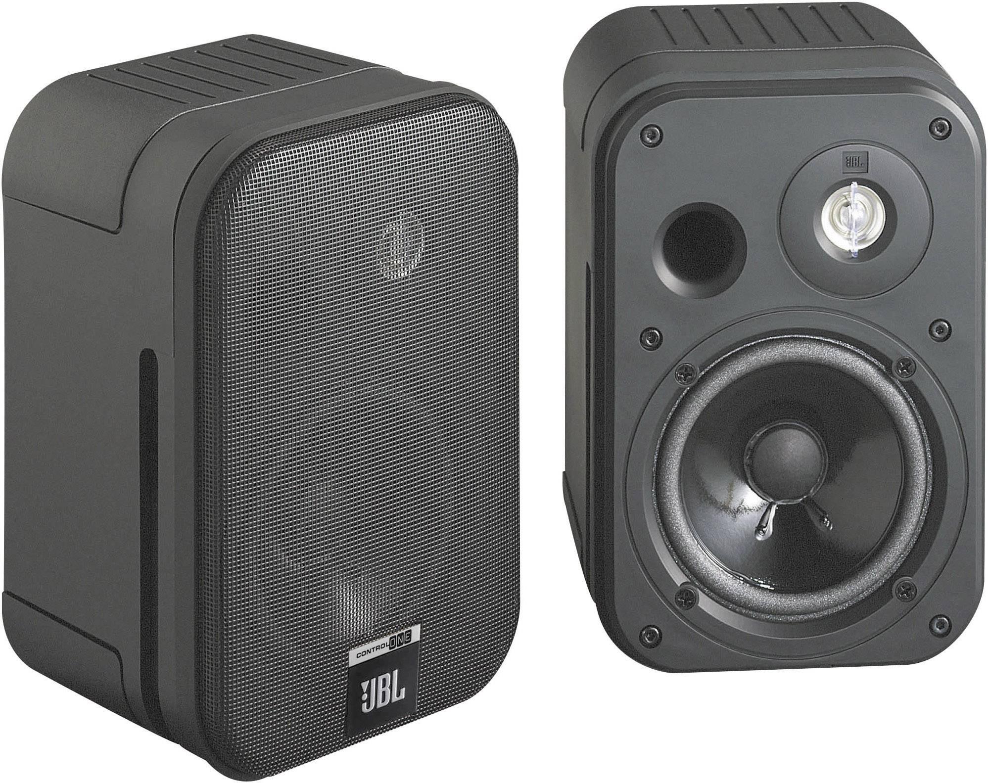 """Pasivní studiové monitory JBL Control 1, 10 cm (4 """"), 50 W, 1 pár, černá"""