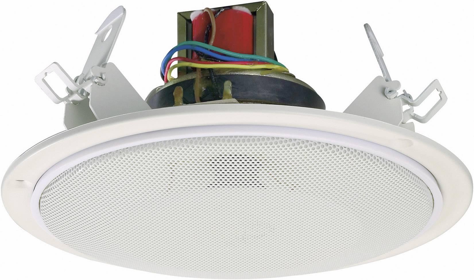 Vestavný stropní ELA reproduktor SPE-178WT, 87 dB,20/40 W, bílá