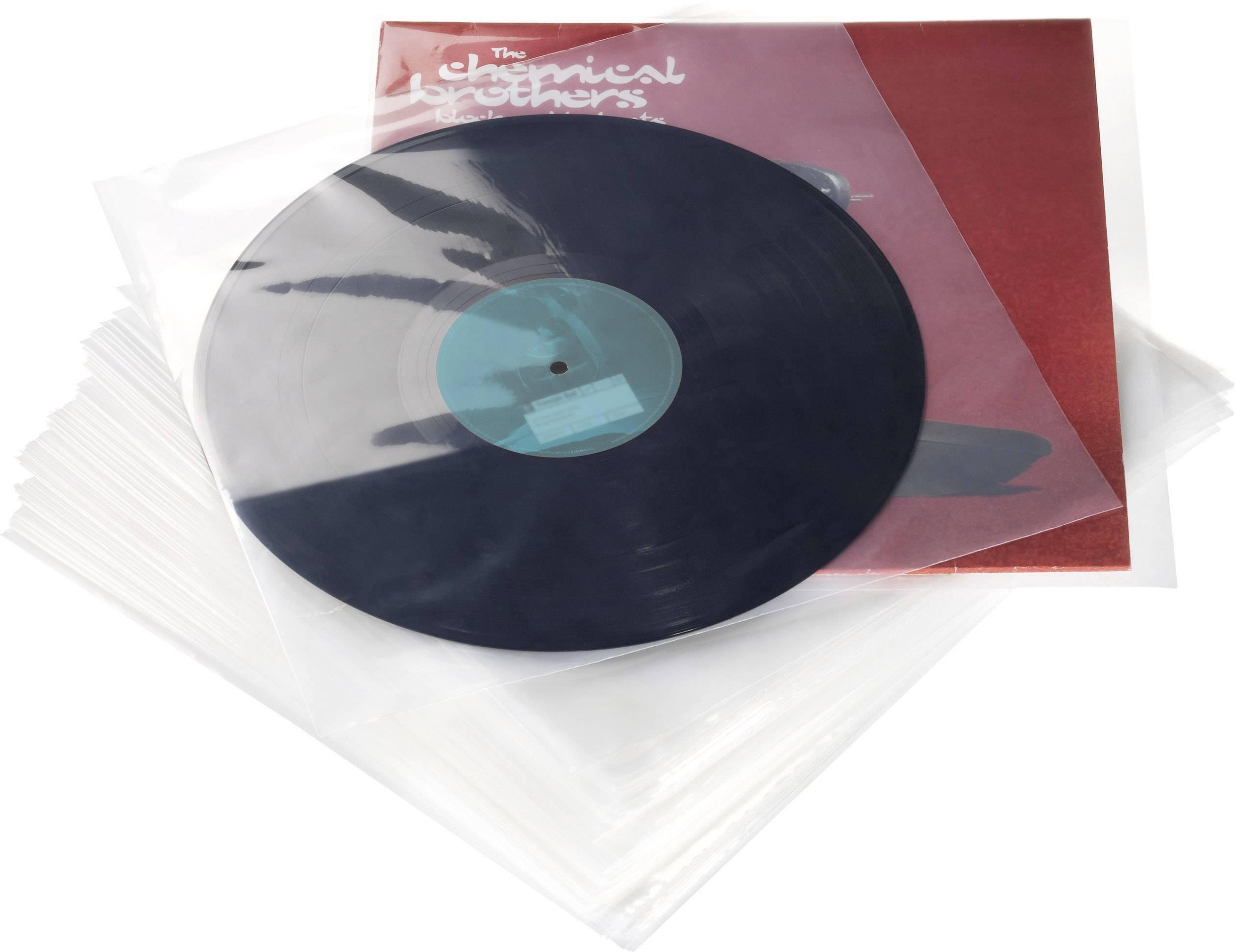 """Glorious DJ 30 cm (12"""") LP SCHUTZHÜLLEN 100ER SET"""