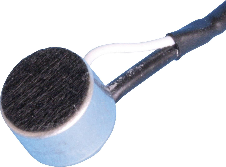Elektretový mikrofon EMY-62NL101, -46 dB, 50 - 12 000 Hz, AWG 600 Ω, MCE-101, 1 - 10 V/DC