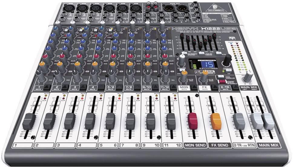USB mixážní pult Behringer Xenyx X1222