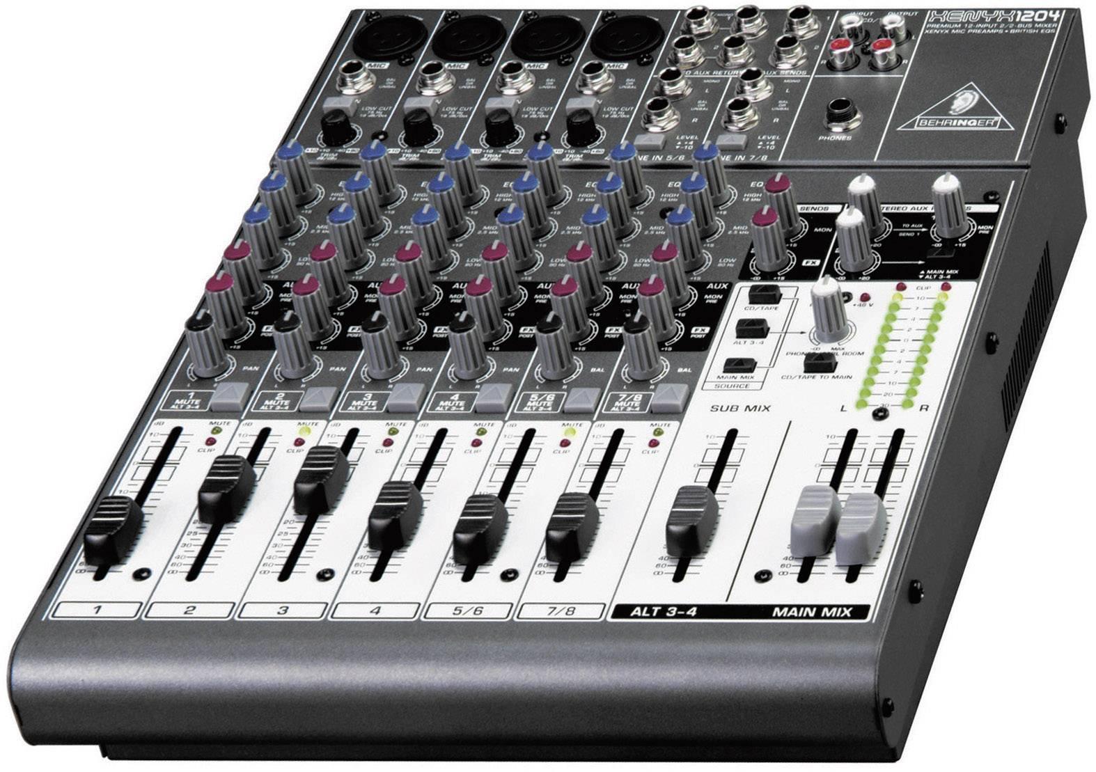 Mixpult série Xenyx 1204 USB