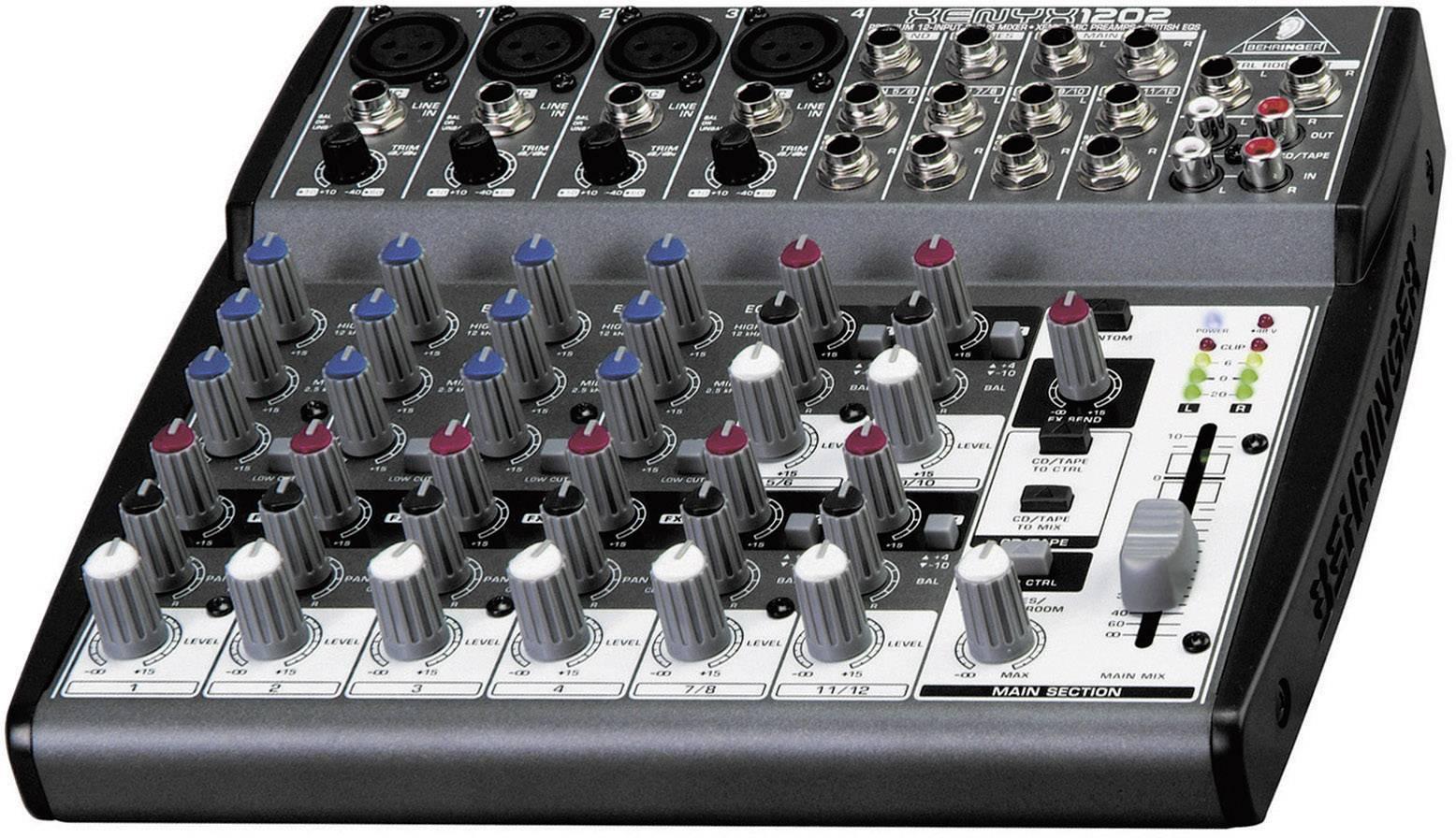 Mixpult série Xenyx 1202