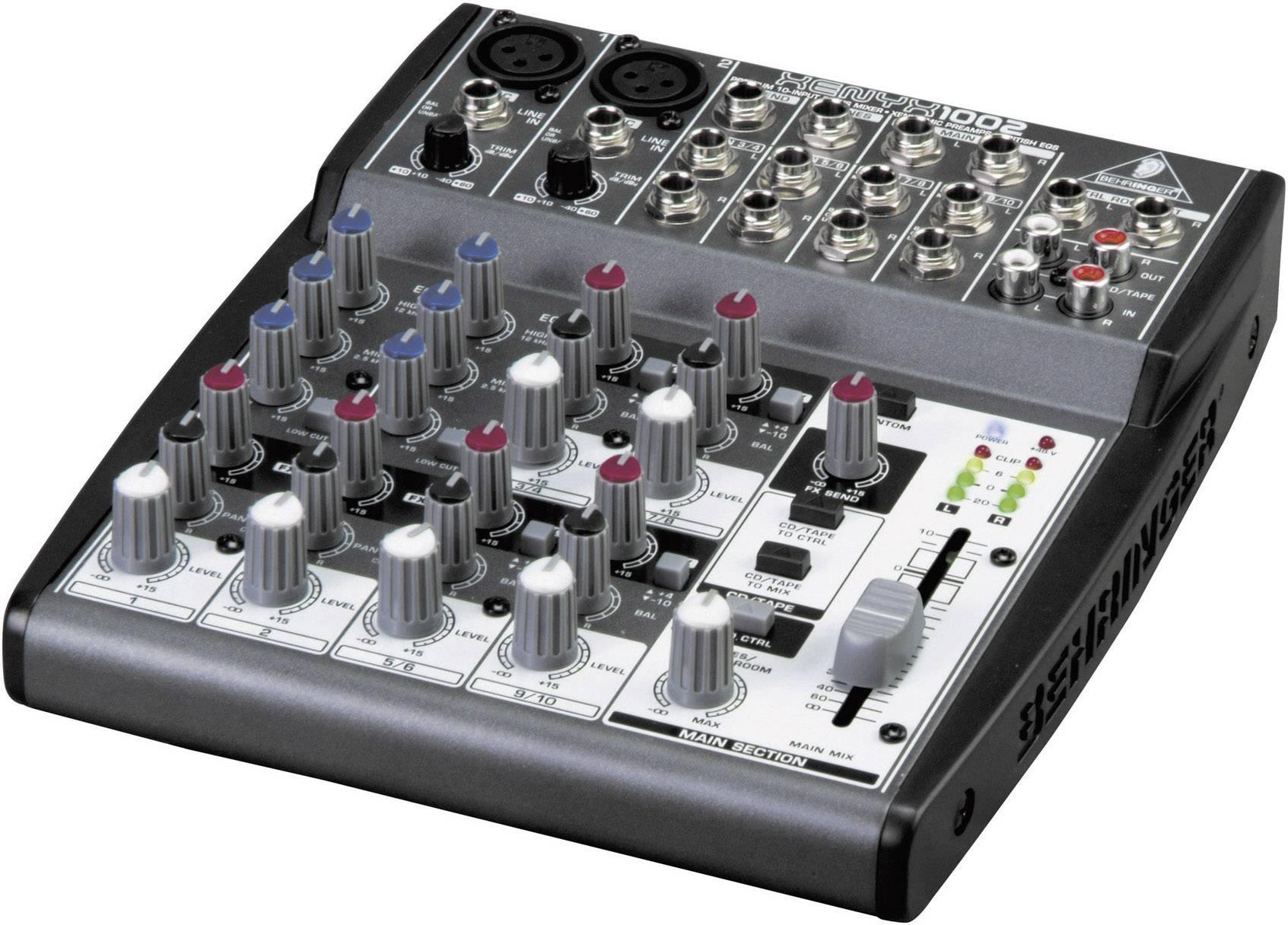 Mixpult série Xenyx 1002
