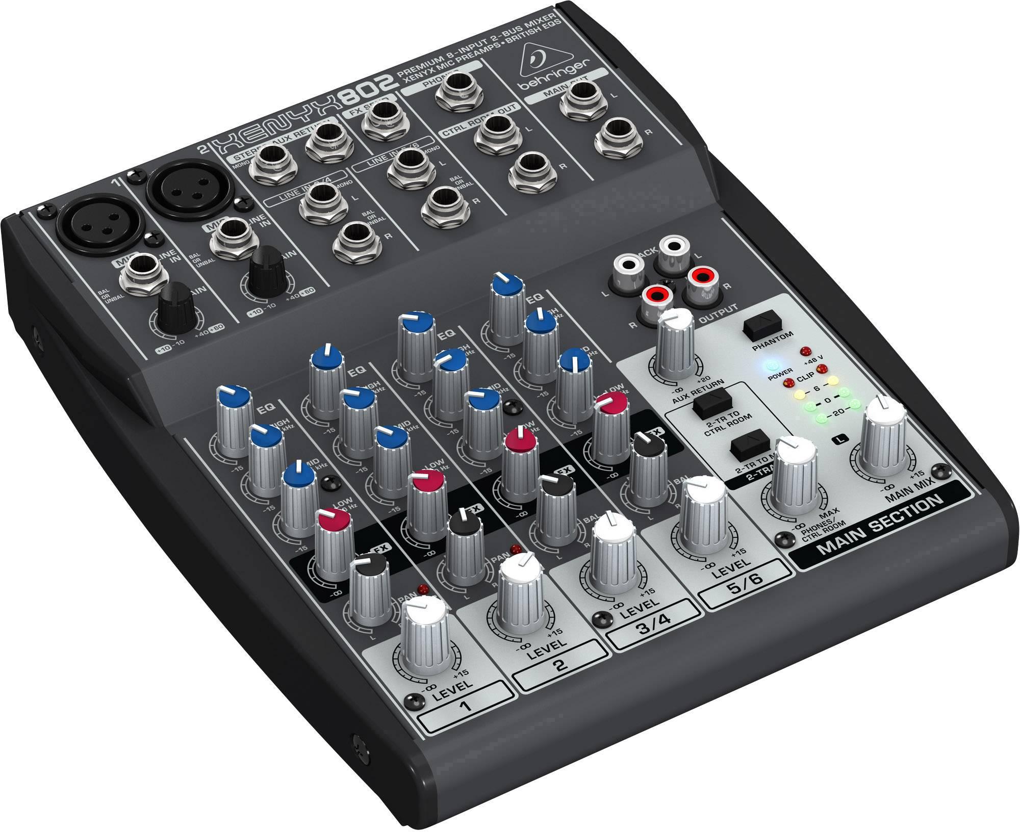 Mixpult série Xenyx 802