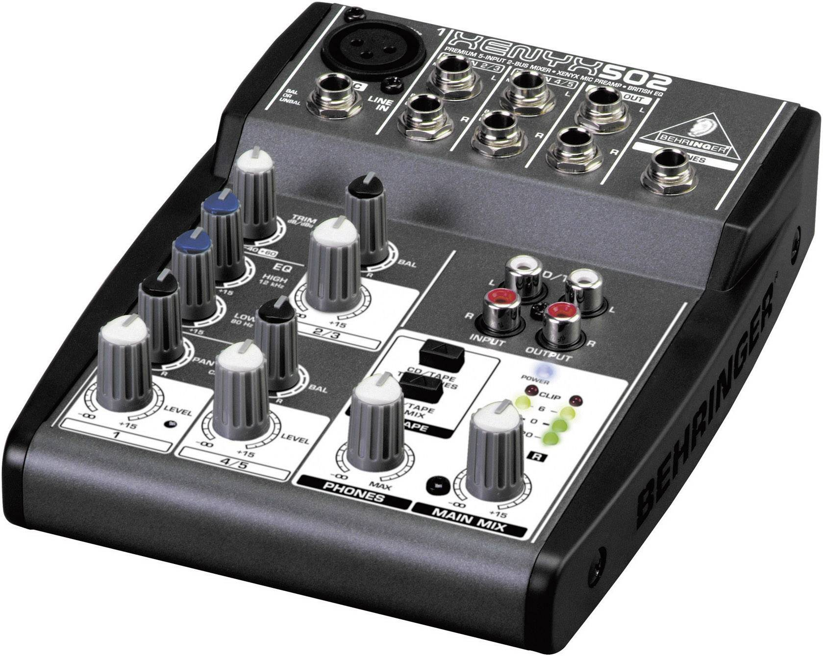 Mixpult série Xenyx 502