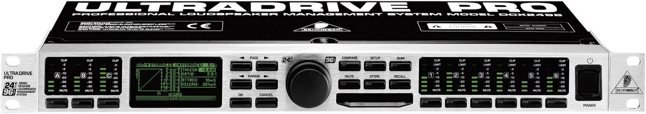 Frekvenční výhybka Behringer DCX2496