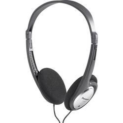 Sluchátka On Ear Panasonic RP-HT030 HT030E-S, černá, stříbrná