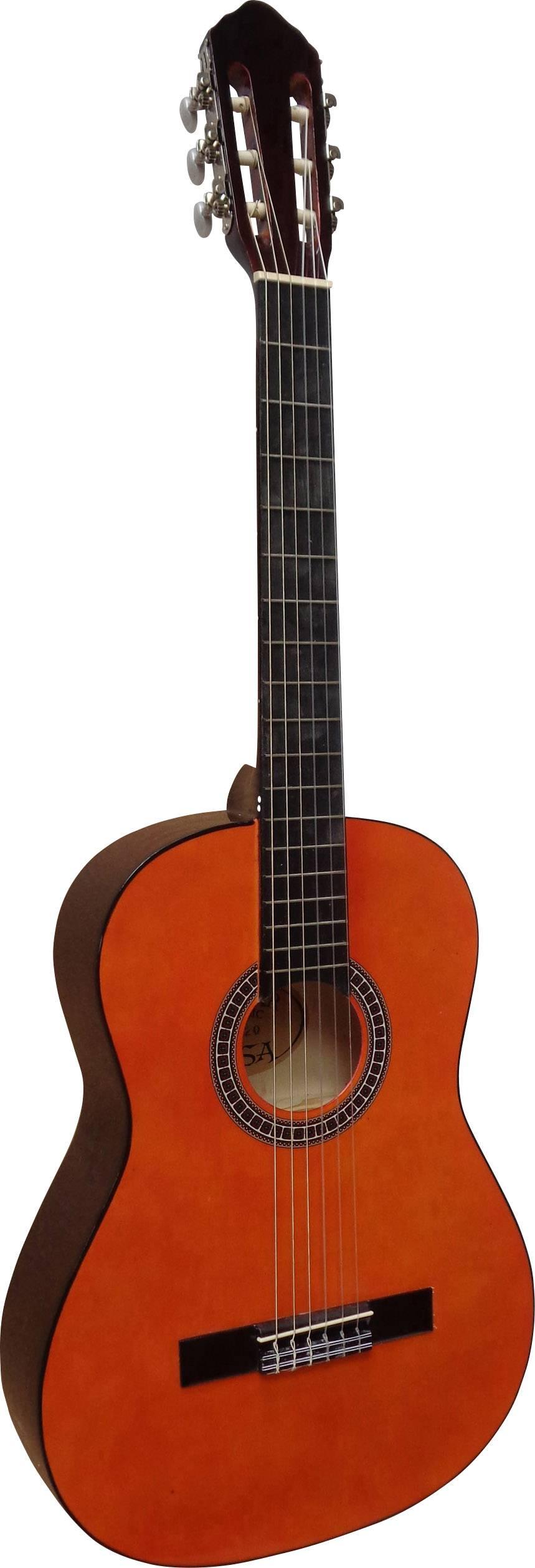 Koncertná gitara MSA Musikinstrumente C21, veľkosť gitary 4/4, prírodná