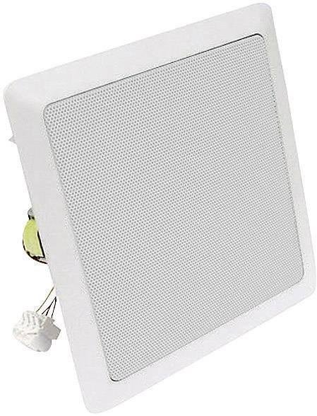 Vestavný stropní ELA reproduktor Visaton DL 18/2SQ , 8 ohm, 97 dB, 40/60 W