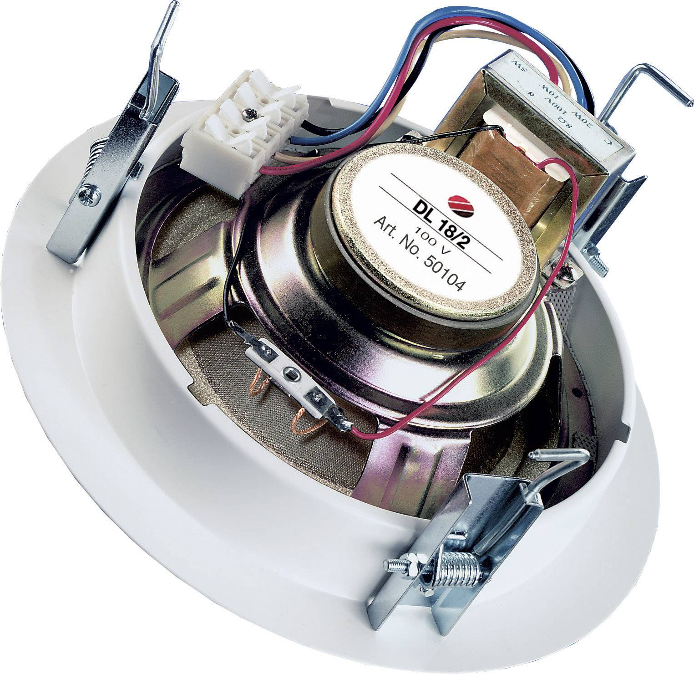 Stropný reproduktor Visaton DL 18/2 T, 8 Ω/ 100 V