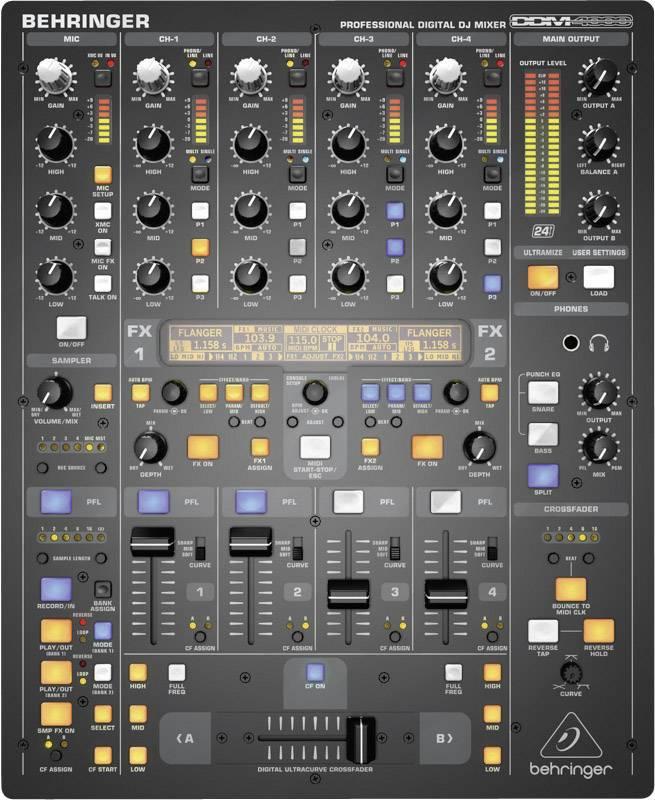 Digitální mixážní pult Behringer DDM4000