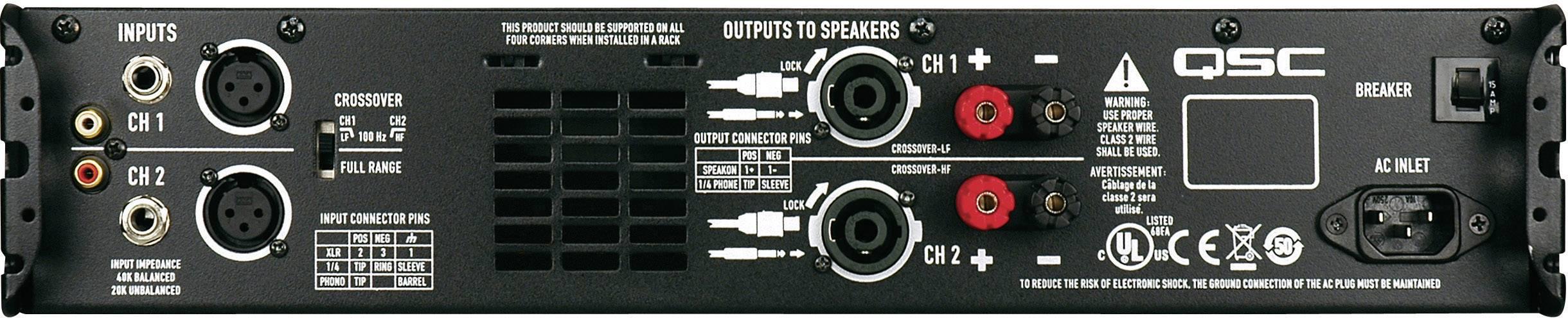 QSC GX 500W Profi koncový stupeň