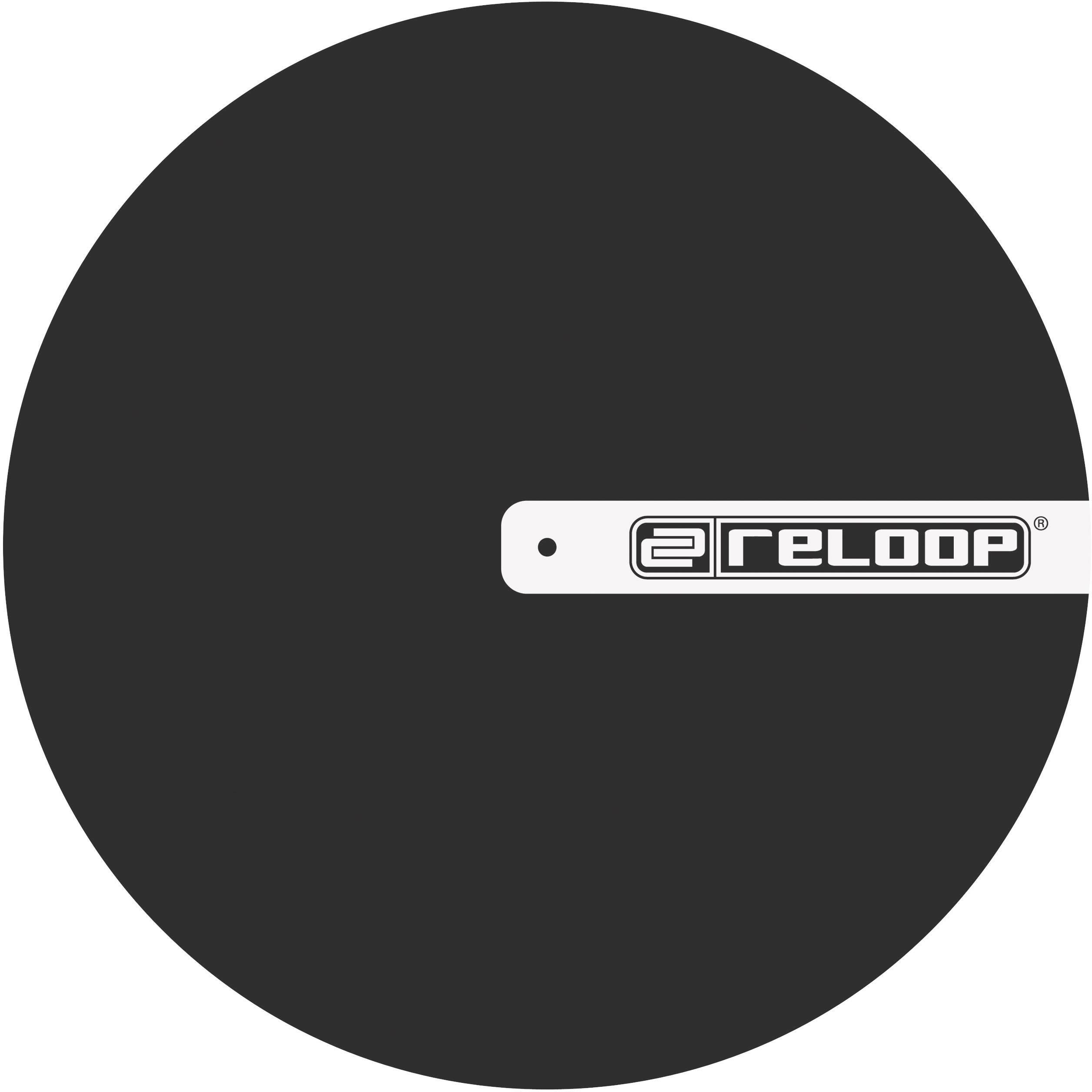 Slipmat podložka na gramofón Reloop Filz schwarz 217575