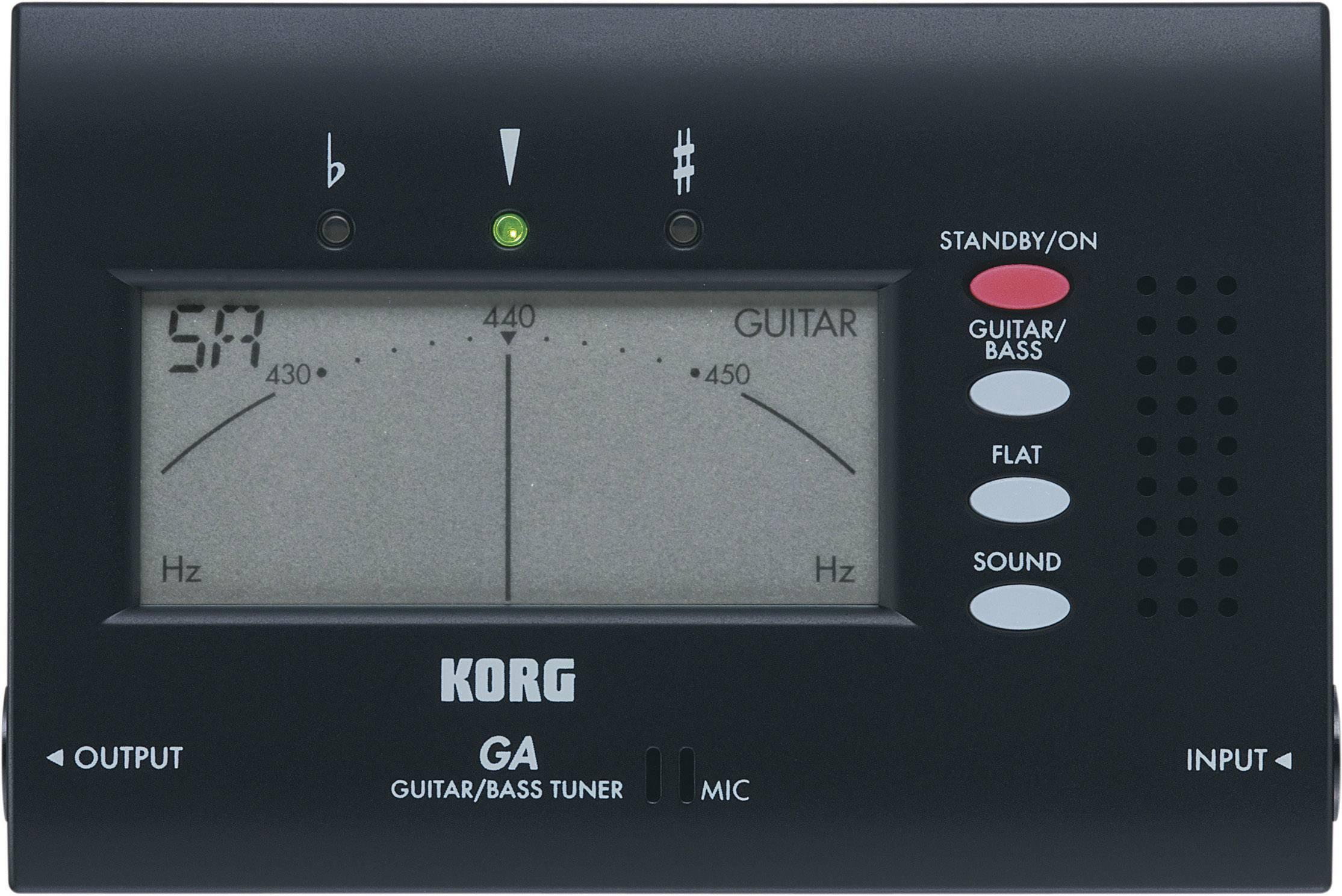 Kytarová ladička Korg GA-40