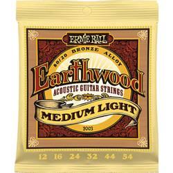 Struny na 12-strunou kytaru Ernie Ball Earthwood Bronze Medium Light, 012 - 054