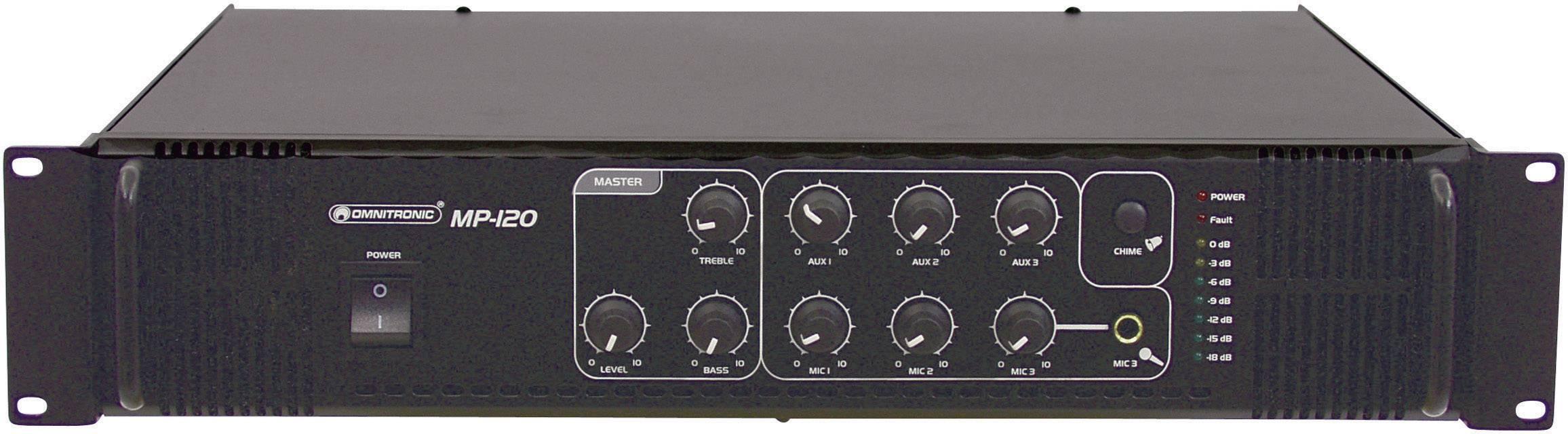 Zesilovač ELA Omnitronic MP-120
