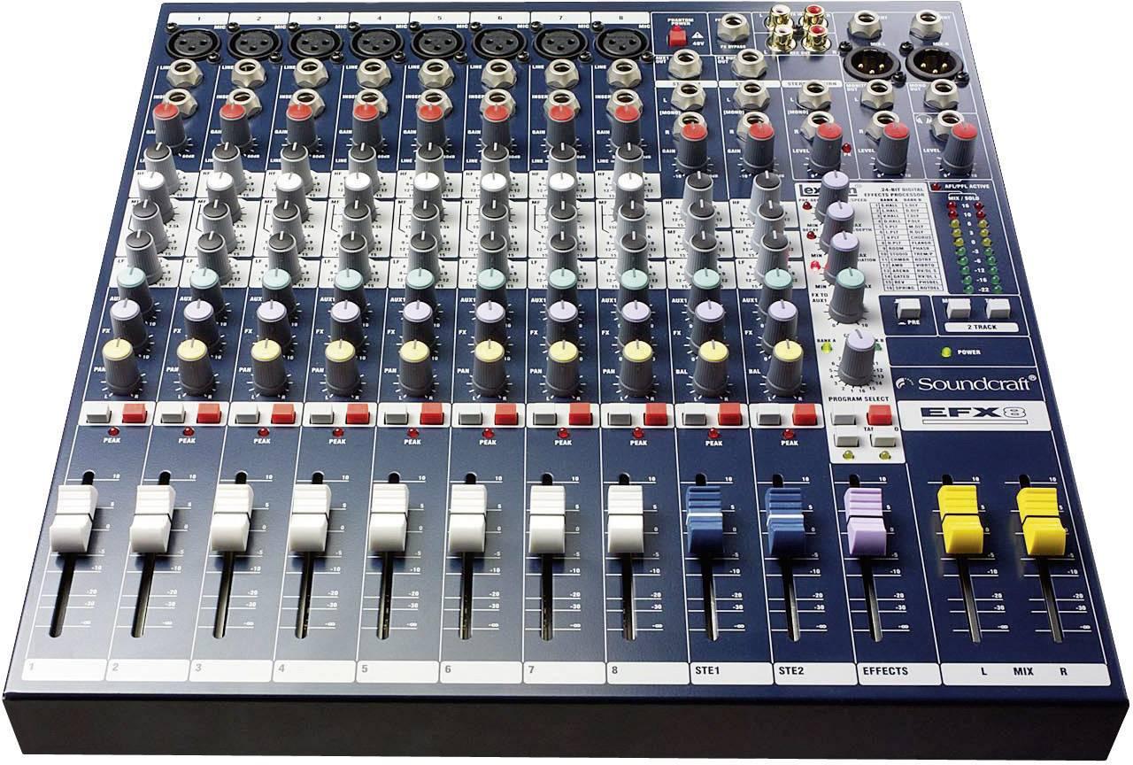 Mixážní pult Soundcraft EFX8
