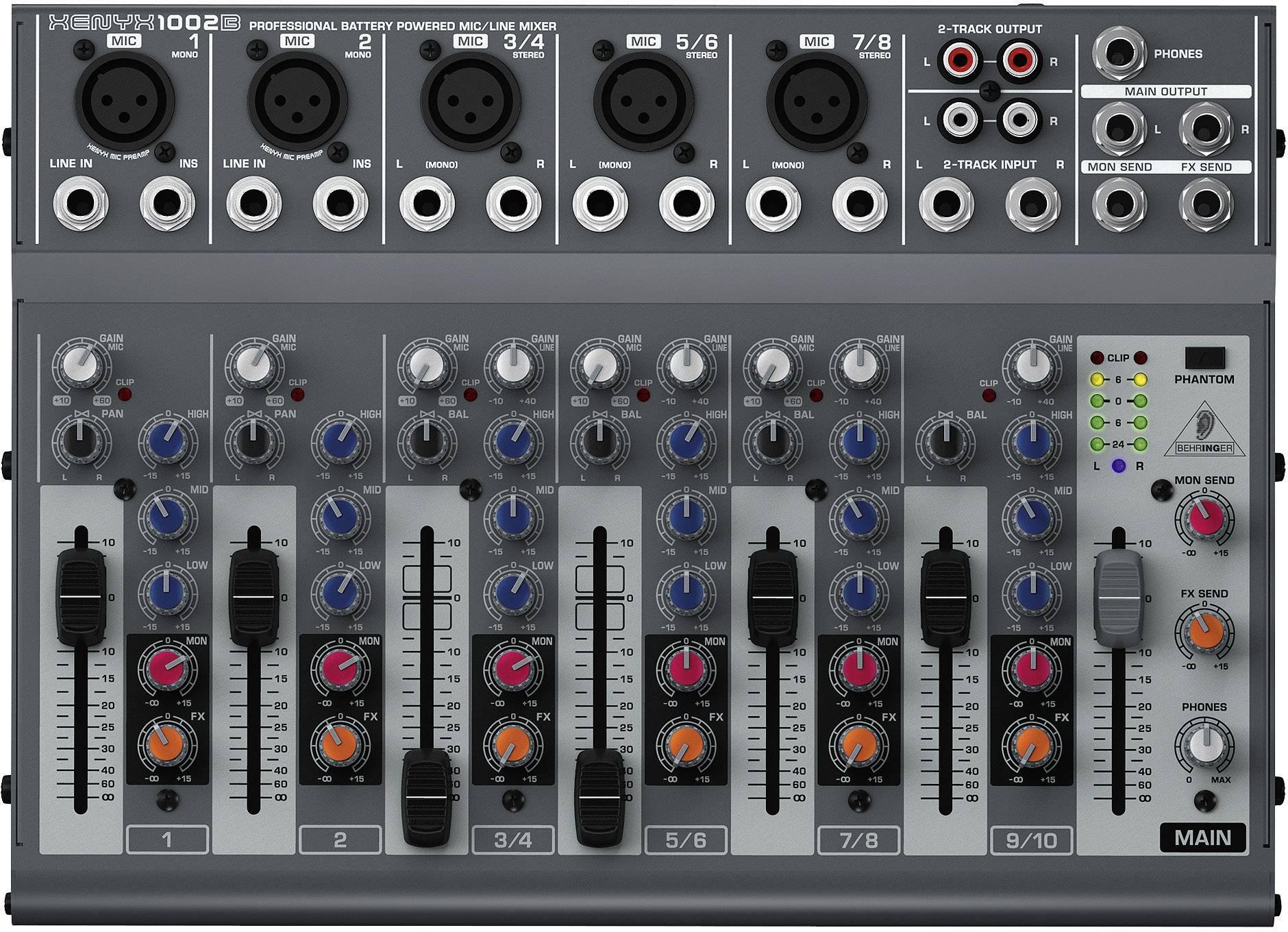 Mixážní pult Behringer Xenyx 1002B