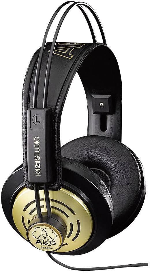 Štúdiové slúchadlá AKG Harman K 121 Studio AKGK121Studio, čierna, zlatá